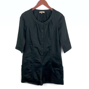 Sandro Paris Black Cotton Romper